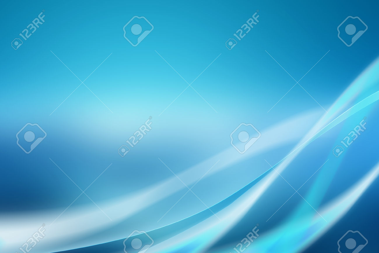 Abstract blue background with soft curves